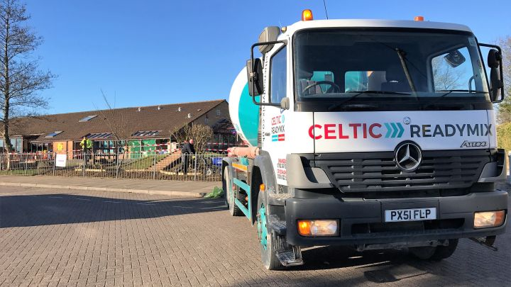 Readymix Concrete Wales - Quality Assured